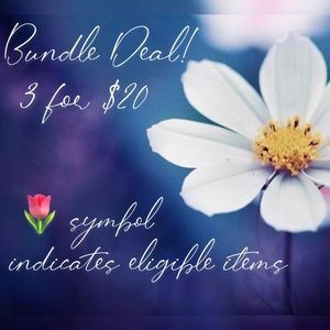 Other - 🌷 3 for $20 bundle deal!